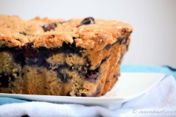 Peanut Butter Blueberry Bread Recipe