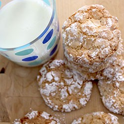 Perfect Almond Cloud Cookies