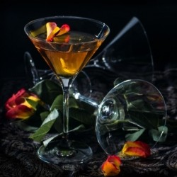 Rising Rose Martini Cocktail Recipe