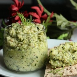 Roasted Zucchini Pesto