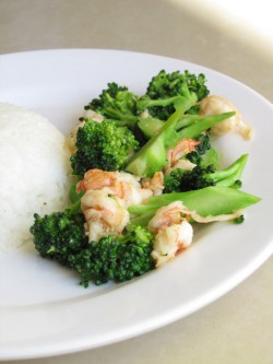 Stir Fried Shrimp with Broccoli Recipe
