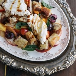 Stone Fruit Burrata Salad Recipe