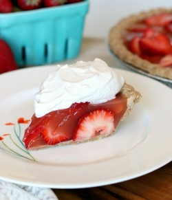 Strawberry Jello Pie Vegan Recipe