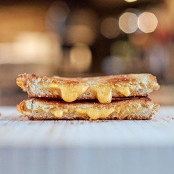 Thin Crispy Grilled Cheese Recipe