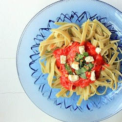 Tomato and Tuna Pasta Recipe