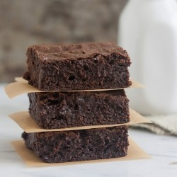 Triple Chocolate Avocado Brownies Recipe