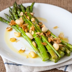 Asparagus with Garlic Recipe