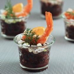 Beetroot Shrimp Salad