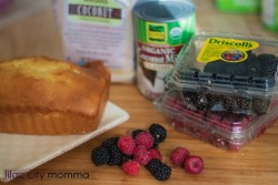 Berry Pound Cake Trifle Recipe