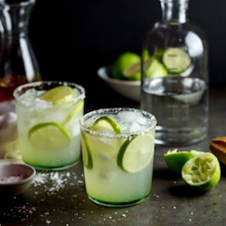 Chili Infused Margaritas Recipe