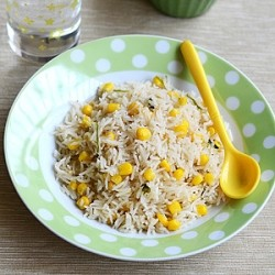 Corn Pulav Recipe