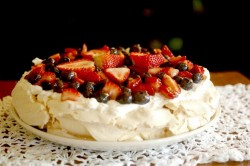 Double Berry Pavlova Recipe