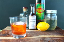 Duck Fat Sazerac Cocktail Recipe