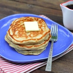 Oat Buttermilk Pancakes Recipe