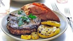 Pina Colada Grilled Pork Chops Recipe