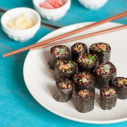 Quinoa Vegetable Rolls Recipe