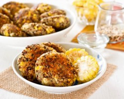 Spiced Quinoa Corn Patties Recipe