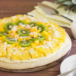 Tropical Fruit Pizza Recipe