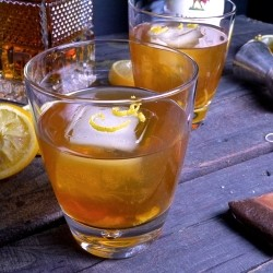 A refreshing blend of black tea brandy rum and…
