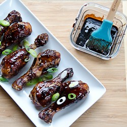 BalsamicHoisin BBQ Chicken perfect for game day or…