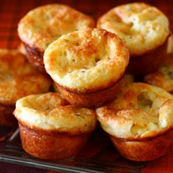 Blue Cheese Popovers