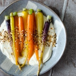 Brown Butter Heirloom Carrots Recipe