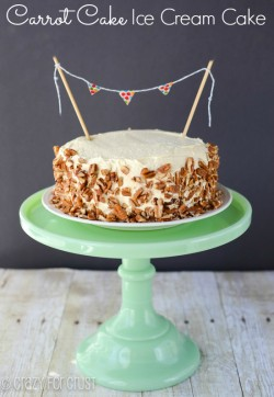 Carrot Cake with Cheesecake Cream Recipe