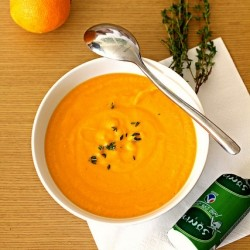 Carrot Sweet Potato Pumpkin Soup Recipe