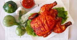 Chicken with Maple Chipotle Barbeque Sauce Recipe