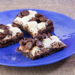 Chocolate Peppermint Layer Bars