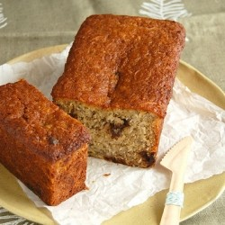 Coconut Cherry Banana Bread Recipe