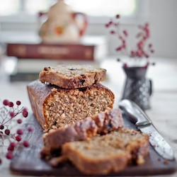 Fruit and Nut Coffee Cake