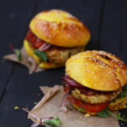 Indian Chicken Burger Recipe