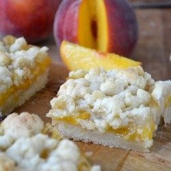 Jack Daniels Peach Pie Bars Recipe
