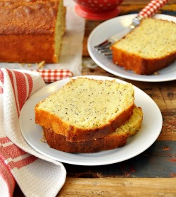 Lemon Poppy Seed Olive Oil Loaf Cake Recipe