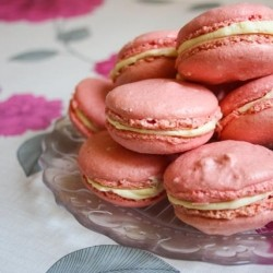 Pretty in Pink Macarons Recipe