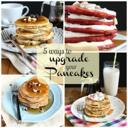 Rainbow Sprinkles Pancakes Recipe