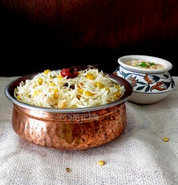 Rice and Bengal Gram Pilaf Recipe