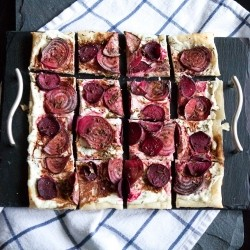Roasted Beet and Goat Cheese Tart Recipe