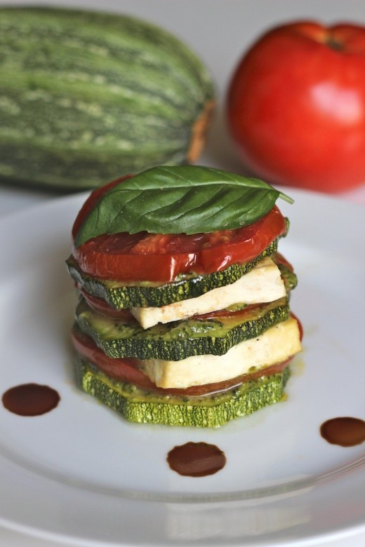 Roasted Vegetables with Pesto Recipe recipes - Social ...