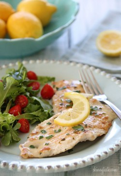 Skinny Chicken Francese Recipe