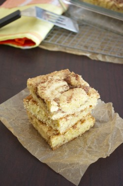 Snickerdoodle Bars Recipe