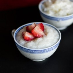 Thai Coconut Sticky Rice Pudding Recipe