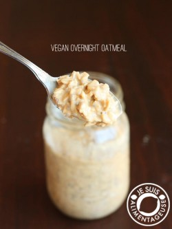 Vegan Overnight Oats Recipe