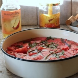 Watermelon Mint Shrub Recipe