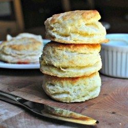 Biscuits and Vanilla Honey Butter Recipe