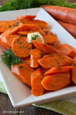 Buttered Dill Carrots Recipe