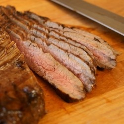 Coffee Grilled Flank Steak