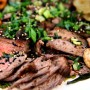 Grilled Kalbi Korean Flank Steak Recipe