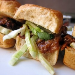 Hoisin BBQ Pork Slider Recipe